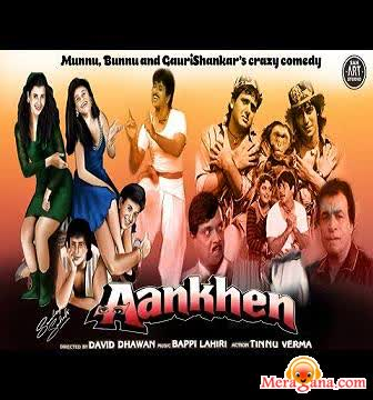 Poster of Aankhen (1993)