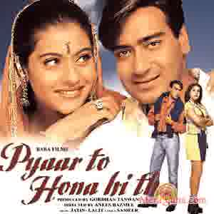 Poster of Pyaar To Hona Hi Tha (1998)